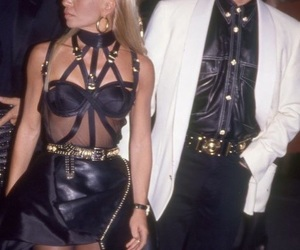fashion, Versace, and haute couture image