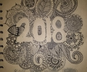 art, mandala, and 2018 image