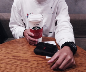 coffee, instagram, and starbucks image