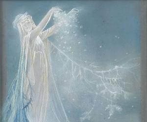 frost, spirit, and goddess image