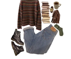 90s, doc martens, and jumper image