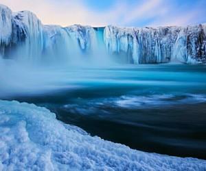 ice, blue, and iceland image