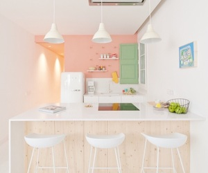 kitchen and pastel image