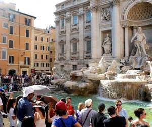 fountain, places, and rome image