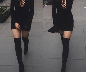 black, shoes, and elizabeth gillies image