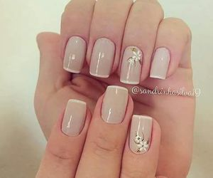 nails, design, and flowers image