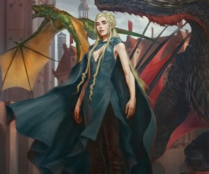 conquer, fire and blood, and viserion image