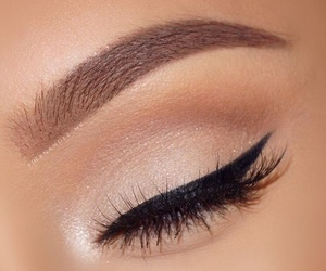 eye liner, eyes, and makeup image