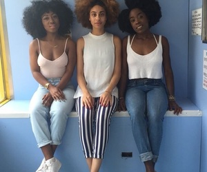 girl, Afro, and melanin image
