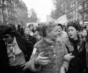 feminism, french, and simone de beavuoir image