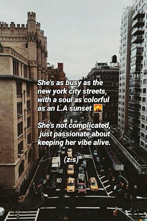 She\'s busy as N.Y city streets.. -z.s💕 on We Heart It