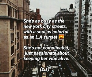 love it, new york city, and quotes image