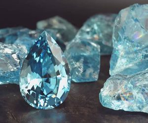 beautiful, gem, and blue image