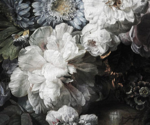 flowers, nature, and art image