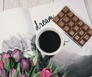 beautiful, chocolate, and coffee image