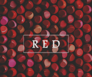 art, cool, and rojo image