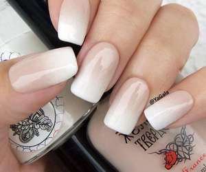 manicure and woman image