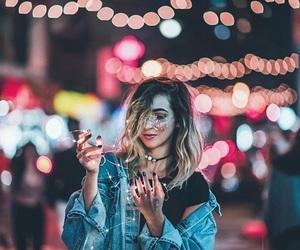 alternative, bokeh, and fairy lights image