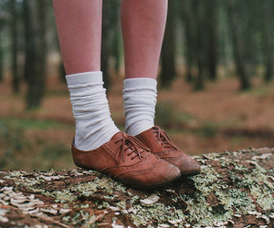 shoes, vintage, and socks image