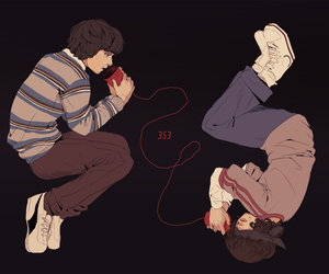aesthetic, eleven, and fan art image