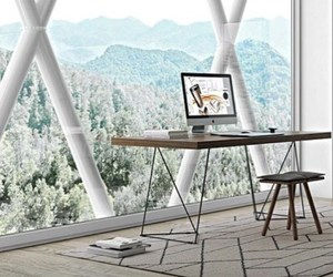 desk, fashion, and room image