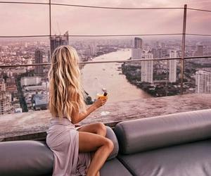girl, amazing, and city image