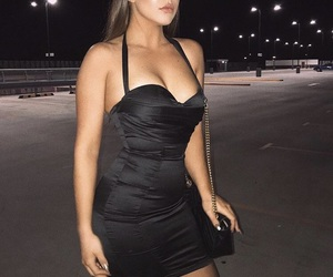 classy, cleavage, and curvy image