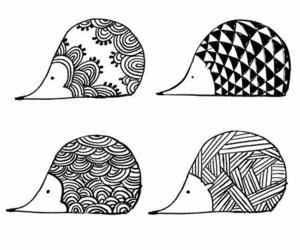 doodle and hedgehog image