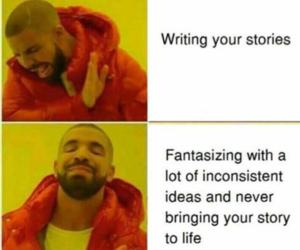 Drake, Lazy, and meme image