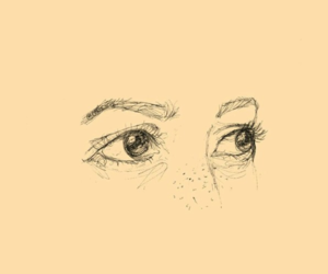 eyes, tumblr, and lockscreen image