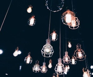 lights and black image