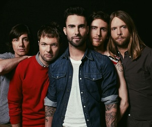 maroon 5, music, and adam levine image