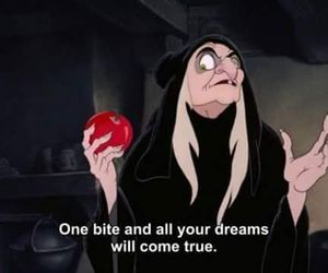 snow white, Dream, and apple image