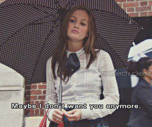 gossip girl, blair, and text image