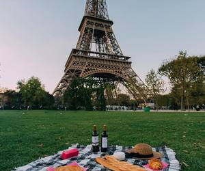 paris, food, and france image
