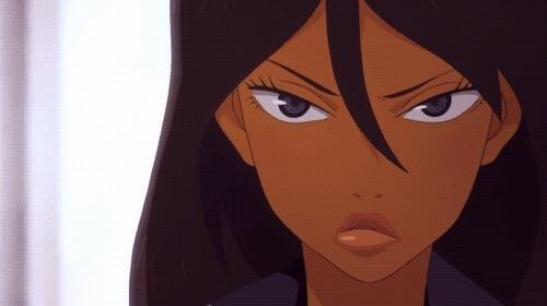anime and michiko to hatchin image