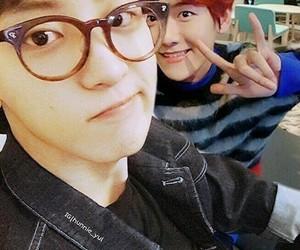 couple, ship, and baekyeol image