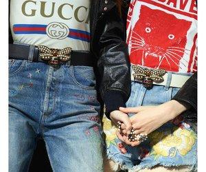 fashion, tshirts, and gucci image