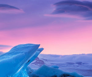 artic, cold, and evening image