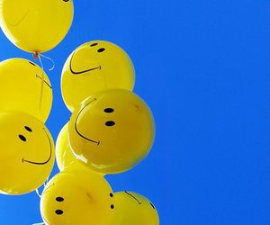 balloon, beautiful, and face image