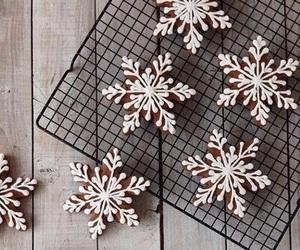 bake, cake, and christmas image