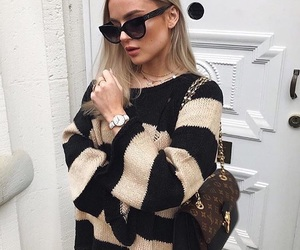 girl, outfit, and glasses image