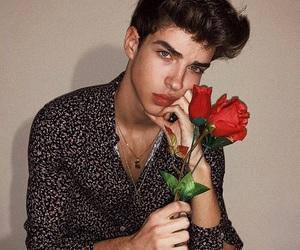 boy, manu rios, and rose image