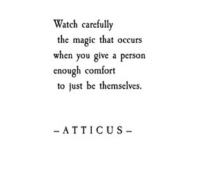 quotes, words, and atticus image