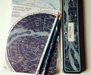 art, pencils, and travel image