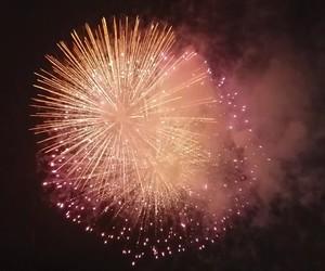fireworks, light, and lights image