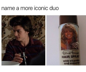 funny, memes, and stranger things image