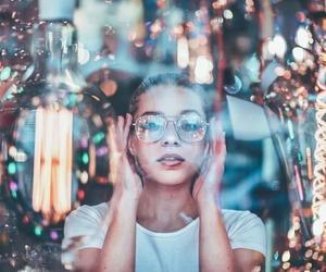 light, photography, and girl image