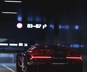 car and neon image