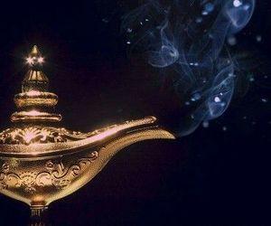 genie, wish, and lamp image
